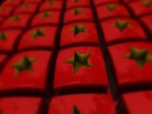 Estrellas chinas foto de archivo