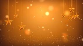 Estrellas cinco-acentuadas doradas Polvo de oro