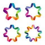 Estrellas coloridas ilustración del vector