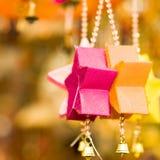 Estrellas coloridas Fotografía de archivo libre de regalías