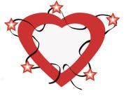Estrellas con amor Stock de ilustración
