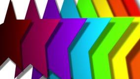 Estrellas de Colorfull ilustración del vector