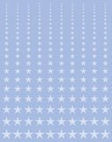 Estrellas de descoloramiento ilustración del vector