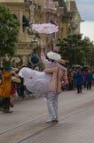Estrellas de Disney en desfile Imagenes de archivo