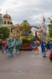 Estrellas de Disney en desfile Imagen de archivo