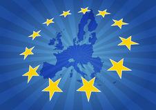 Estrellas de Europa Imagenes de archivo