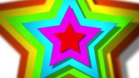 Estrellas de giro ilustración del vector