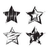 Estrellas de Grunge Fotos de archivo libres de regalías