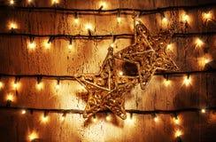 Estrellas de la Navidad Foto de archivo