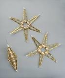 Estrellas de la Navidad Imagen de archivo