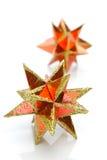 Estrellas de la Navidad imágenes de archivo libres de regalías