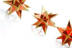 Estrellas de la Navidad Imagenes de archivo
