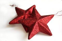 Estrellas de la Navidad fotografía de archivo