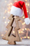 Estrellas de la Navidad Modelo de la Navidad Fondo en el color gris Imagen de archivo libre de regalías