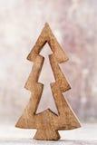 Estrellas de la Navidad Modelo de la Navidad Fondo en el color gris Fotografía de archivo libre de regalías