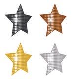Estrellas de la perspectiva Imágenes de archivo libres de regalías