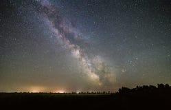 Estrellas de la vía láctea Imagen de archivo