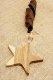 Estrellas de madera Foto de archivo libre de regalías