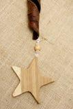 Estrellas de madera Imagen de archivo