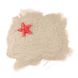 Estrellas de mar del mar en blanco Imagen de archivo