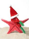 Estrellas de mar Papá Noel Imagen de archivo libre de regalías