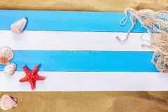 Estrellas de mar y el tesoro perdido Fotografía de archivo libre de regalías