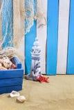 Estrellas de mar y el tesoro perdido Foto de archivo libre de regalías