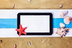 Estrellas de mar y el tesoro perdido Imágenes de archivo libres de regalías