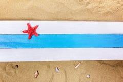 Estrellas de mar y el tesoro perdido Imagenes de archivo