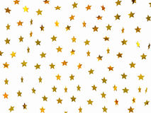 Estrellas de oro imagenes de archivo