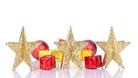 Estrellas de oro Fotografía de archivo libre de regalías