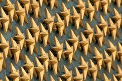 Estrellas de oro Fotos de archivo libres de regalías