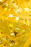 Estrellas de oro Imagen de archivo libre de regalías
