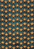 Estrellas de oro Foto de archivo