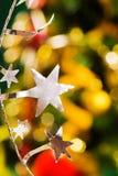 Estrellas de plata Fotos de archivo