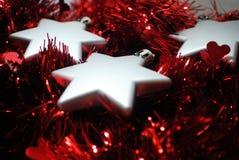 3 estrellas de plata (4) Foto de archivo libre de regalías