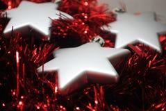 3 estrellas de plata (6) Imágenes de archivo libres de regalías