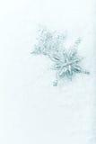 Estrellas de plata de la Navidad Fotografía de archivo libre de regalías