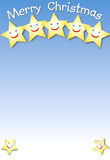 Estrellas de risa Foto de archivo libre de regalías