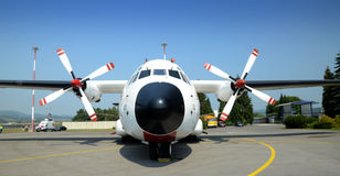 Estrellas de Turkisch - aeropuerto Sliac de Slovac Imagen de archivo