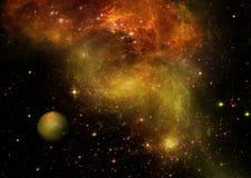 Galaxia en un espacio libre Imagen de archivo libre de regalías