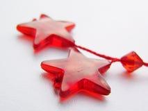 Estrellas. Decoraciones de la Navidad Fotos de archivo libres de regalías