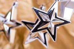 Estrellas decorativas Fotos de archivo