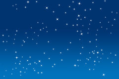 Estrellas del centelleo Fotografía de archivo