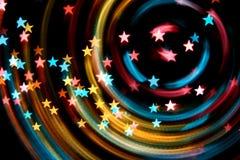 Estrellas del disco Imagen de archivo libre de regalías