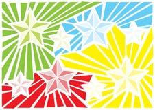 Estrellas del extracto Foto de archivo libre de regalías