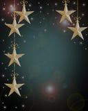 Estrellas del fondo del día de fiesta de la Navidad Imagenes de archivo