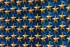 Estrellas del monumento de la Segunda Guerra Mundial Foto de archivo libre de regalías