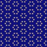 Estrellas del oro Imagenes de archivo