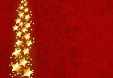 Estrellas del oro Foto de archivo libre de regalías